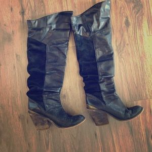 Lucky boots size 6.